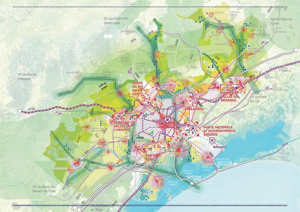 Montpellier metropole Une fabrique de la ville