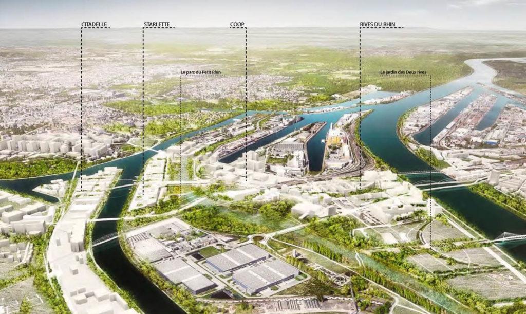 STRASBOURG DEUX RIVES - Une fabrique de la ville